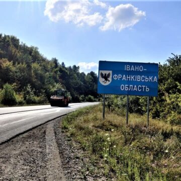 На межі Івано-Франківської та Тернопільської областей влаштованощебенево-мастиковий асфальтобетон