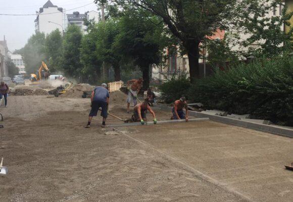 В Івано-Франківську почався капітальний ремонт вулиці Озаркевича