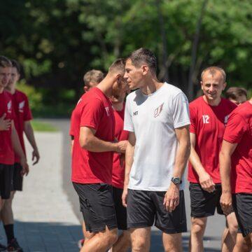 Головний тренер НФК «Ураган» Максим Павленко розповів про відновлення тренувань
