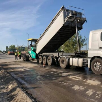 На об'їзній Тлумача розпочали ремонт (ФОТО)
