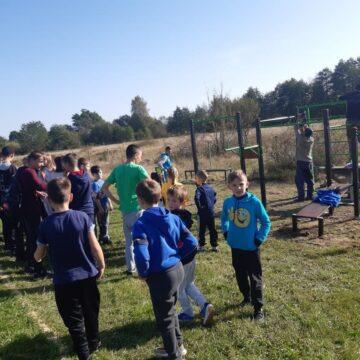 У селах на Калущині влаштували спортивні майданчики