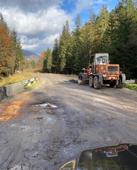 На Долинщині розпочали ремонт дороги за 700 мільйонів гривень (ФОТО)