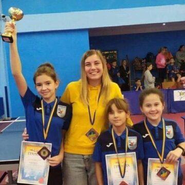 Юна франківська тенісистка виборола призове місце на чемпіонаті України (ФОТО)