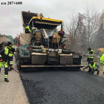 Завершальні штрихи: на дорогах Івано-Франківщини закічується будівельно-ремонтний сезон-2020 (ФОТО)
