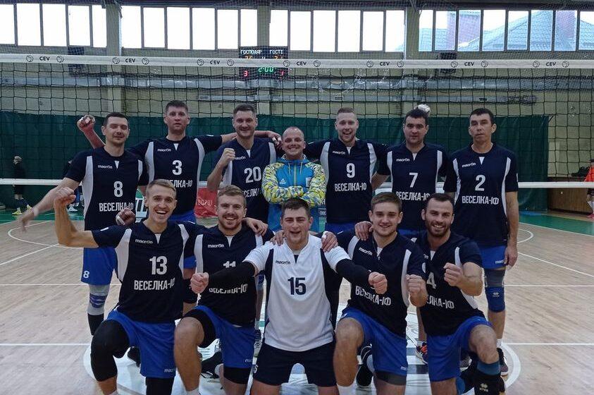 Волейбольна команда Покуття-Прибилів здобула дві важливі перемоги у чемпіонаті
