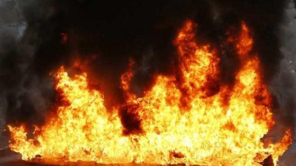 Під час пожежі у власному будинку загинула жінка