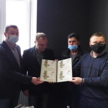 У Косові презентували конверт, приурочений до 200-річчя з дня народження Олекси Бахматюка