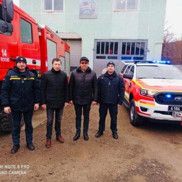 Рятувальники Косівщини отримали спеціальний аварійно-рятувальний автомобіль Ford Ranger