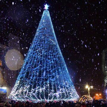 Засвічування головної франківської ялинки відбудеться у п'ятницю, 4 грудня
