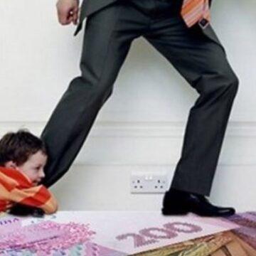 Прикарпатець заборгував власній дитині майже 80 тисяч гривень