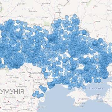 Всі пункти тестування на COVID-19  можна знайти на онлайн-карті
