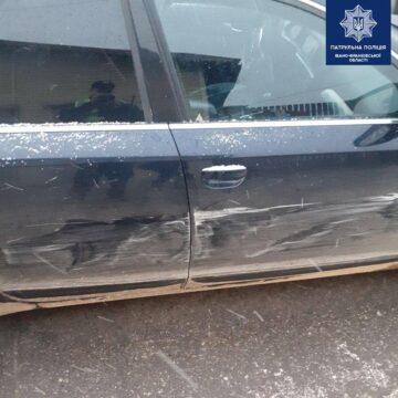 """Чотири адмінпротоколи: В Івано-Франківську водій """"під градусом"""" вчинив дві аварії"""