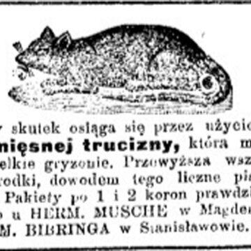 Ретро новина: як сто років тому зі щурами боролися
