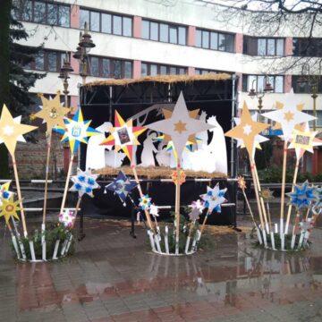 Зіркова феєрія: в центрі Івано-Франківська діє виставка різдвяних зірок