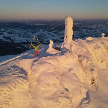 """""""Рідні Карпати не пустили мене"""": Прикарпатець, який відправився у 350-кілометровий гірський похід, змушений відкласти мрію"""
