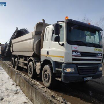 На Рогатинщині продовжили ремонт автотраси М-12 Стрий – Тернопіль – Кропивницький – Знам'янка
