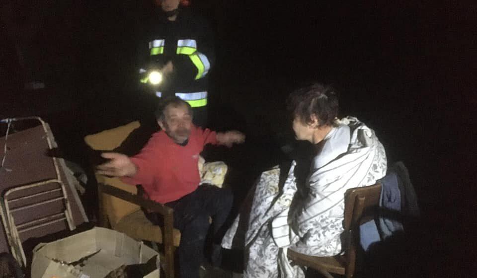 На пожежі в Івано-Франківську врятували чоловіка, жінку та собаку (ФОТО)