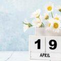 19 квітня –  День проліска, велосипеда та часнику