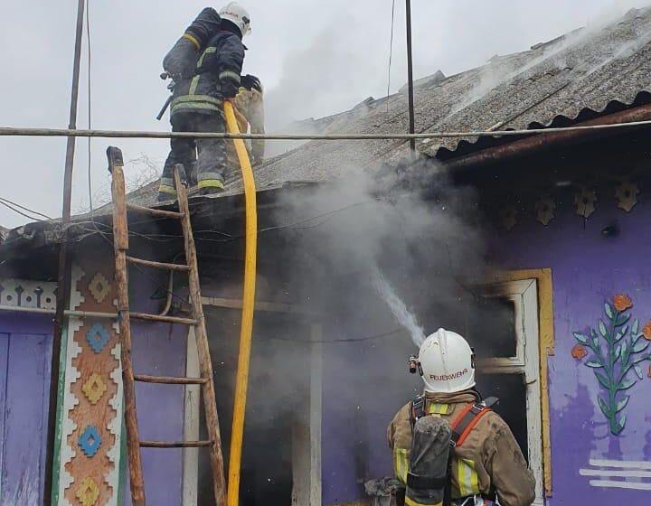 Трагічна пожежа на Снятинщині: у власному домі згорів чоловік (ФОТО)