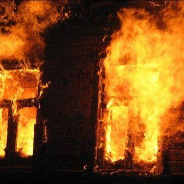 На Косівщині під час пожежі загинула людина