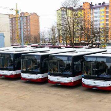 Автопарк КП «Електроавтотранс» поповнять 7 нових автобусів та 9 дуобусів