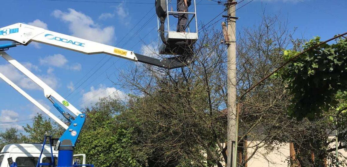 У селах Івано-Франківської міської територіальної громади модернізують системи зовнішнього освітлення вулиць.